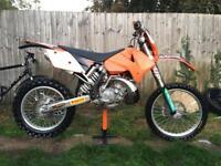 Ktm exc 200cc 2005
