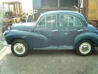 MORRIS MINOR 1957 (Reg:3343U) Rebuilt '05/'06, little used since.
