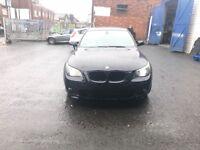 BMW Five serious 3 L diesel M sport plus MOT damage repair 73,000 on the clock