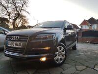 Audi Q7 Quattro Diesel. Heated Seats & Steering Wheel, DVD, 7 seats, Cruise Control