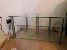 TV GLASS STAND