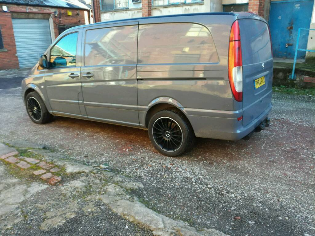 Mercedes Vito 18 Amg Wheels For Sale Not The Van In Batley West