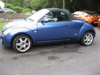 2003 FORD STREET KA CONVERTIBLE NOT RUNNING ELECTRIC FAULT READ READ FULL ADD?? £295