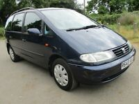 98R SEAT ALHAMBRA FORD GALAXY VW SHARAN 2.0 TDI 7 SEAT FULL MOT GOOD HISTORY TOW BAR 138K PX SWAPS