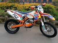 Ktm 250 excf 2015 (immaculate condition) GREAT ENDURO / GREEN LANNING BIKE (PX WELCOME)