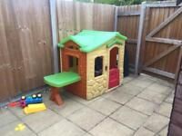 Child's outdoor play house
