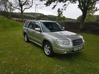 77000 miles Subaru Forester 06 reg immaculate condition 4x4 fsh