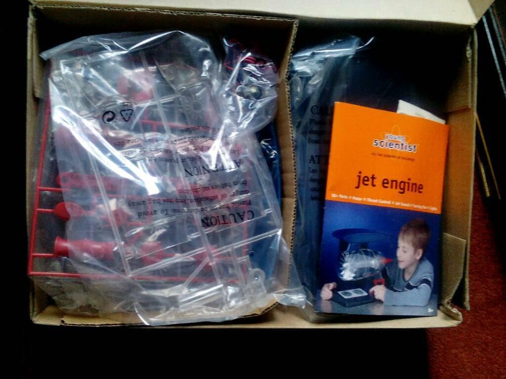 Jet Engine Model Kit | in Newcastle-under-Lyme, Staffordshire | Gumtree