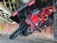 Petrol chainsaw. (EINHELL) like new.