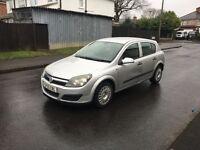 Vauxhall Astra 1.3 CDTI diesel low tax and insurance 55reg