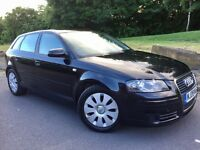 08 AUDI A3 1.9 TDi SPECIAL EDITION SPORTBACK 5 Door--£30 Year Tax--S/History--golf...leon