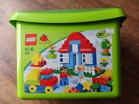 LEGO DUPLO 5507 DELUXE BRICK BOX