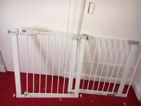 2 baby gates