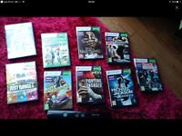 Xbox Kinect & 9 games