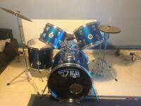 Black Mamba Drum Set -Royal Blue
