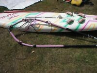 Windsurfer - Vinta XL 330 complete with mast, boom, sails and kit