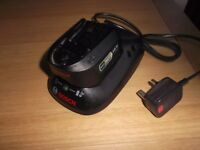 BOSCH BATTERY AND CHARGER FOR BOSCH POWER FOR ALL 18 VOLT 1.5 AH