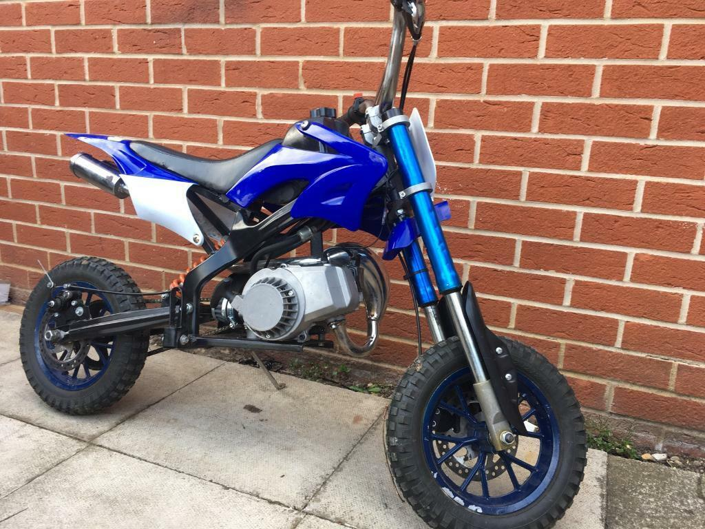 50cc mini moto dirt bike in attleborough norfolk gumtree. Black Bedroom Furniture Sets. Home Design Ideas