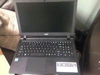 Acer aspire midnight black laptop