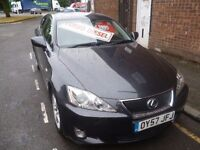 Lexus IS 220D,4 door saloon,FSH,full MOT,stunning car,runs and drives as new,only 73,000,great mpg