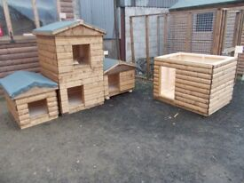 TOP QUALITY STRONG DOG KENNELS FROM £100.00 [NOW TAKING XMAS ORDERS]