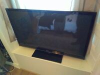50 inch LG Television and Chromecast