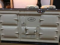 Cream 4 oven Aga cooker in full working order, excellent condition (gas).