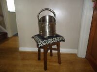 Coal Bucket as new pewter