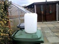 25 litre water barrels £2.00 each 07880902711