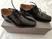 Smart black boy shoes size 1 PAISLEY OF LONDON