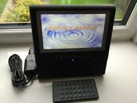 Tablet style next base portable dvd. CD player vgc