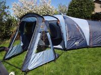 VANGO DIABLO 600 XP FAMILY TENT (SLEEPS 6/8) GREAT COND - OUTDOOR HOLIDAY - CAMPING - FESTIVALS
