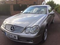 Mercedes clk 270 diesel automatic with tiptronic and full heated leather interior low milage