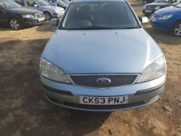 (53) PLATE FORD MONDEO MISTRAL TDCI, MOT NOVEMBER 2018** DELIVERY OPTION AVAILABLE