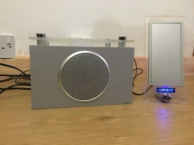 *Special Edition* Stylish Advent Flat Glass Speaker with Subwoofer