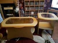Coffee table and occasional table