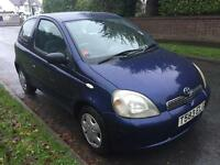TOYATA YARIS GLS LONG MOT STARTS AND DRIVES LIKE NEW