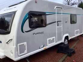 2016 Bailey Pursuit 530 (Fixed Bed, Full End Washroom)