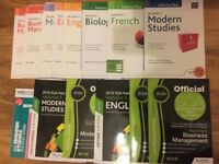 National 5 Revision books for sale - excellent condition £5 each book