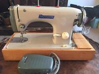 Vintage Sapphire Sewing Machine - Model 57