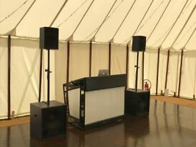 Wedding DJ Funktion One Sound System Rental CDJ 2000 NXS2 Hire Festivals Clubs Bars Birthdays Event