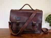 Beautiful handmade genuine leather satchel