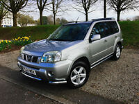 2004 NISSAN X-TRAIL SPORT 2.2 DCI, PANORAMIC ROOF, LOW MILEAGE, EXTERIOR BARS, CLEAN 4X4
