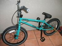"BMX Mongoose bike (BRAND NEW - unwanted gift) 20"" with customised extras"
