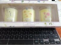candles new in box