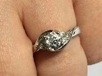 18ct White Gold 0.75 Carat Diamond Ring