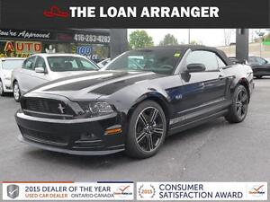 2013 Ford Mustang GT Convertible