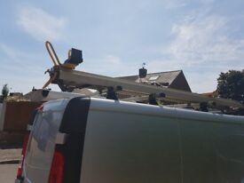 Stow safe ladder rack came off a vauxhall vivaro swb