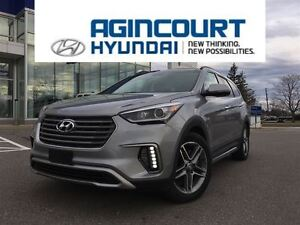 2017 Hyundai Santa Fe XL Limited/NAVI/HID LIGHTS/LEATHER/COOLED