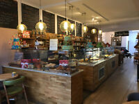 Baristas, café assistant for Nikki's Cafe in Chiswick, London West